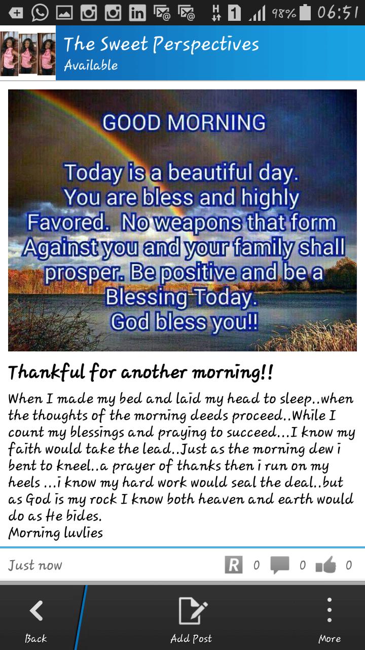 Thankful!!!