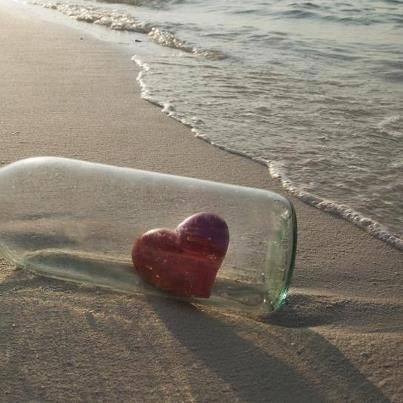 Jars of broken hearts!!!(Heart in a bottle)