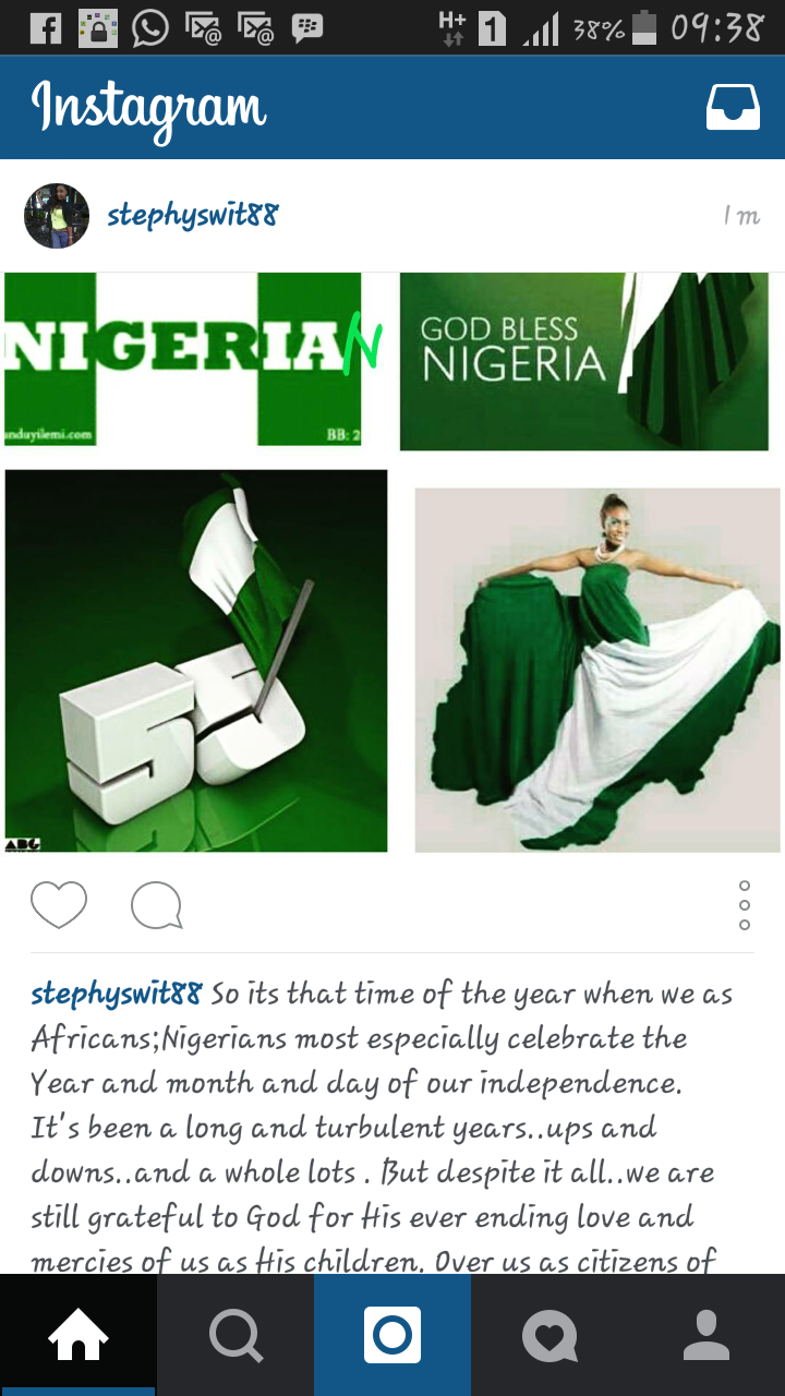 Happy Independence Nigeria!!!